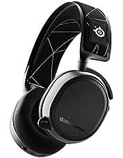 SteelSeries Arctis 9 Wireless Oyuncu Kulaklık- Kayıpsız 2.4 GHz Wireless + Bluetooth - 20 Saat Kullanım Süresi - PC, PS4 ve PS5 Uyumlu