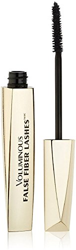 L'Oreal Paris Voluminous False Fiber Lashes Mascara, Blackest Black [270] 0.34 oz (Pack of 12) by L'Oreal Paris