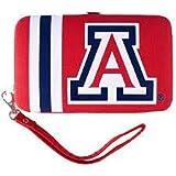Arizona Wildcats Distressed Wallet Wristlet Case (3.5'' X .5'' X 6'')
