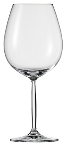 Schott Zwiesel Tritan Crystal Glass Diva Living Stemware Collection, Burgundy, Red Wine Glass, 20.7-Ounce, Set of 6