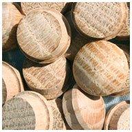 WIDGETCO 5/8'' Oak Button Top Wood Plugs