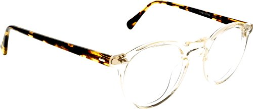 Oliver Peoples - GREGORY PECK OV 5186, Round, acetate, men, BUFF DTB(1485), - Peck 47