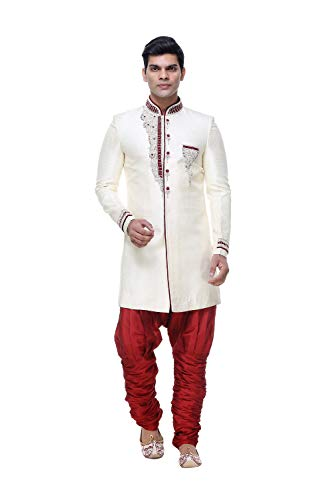 Party Wear Indo Wedding Indian Gold Of Western Mens 30 Ethnic Set Traditional 2 Yq6AWfgf0