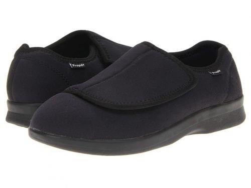Propt(プロペット) メンズ 男性用 シューズ 靴 スリッパ Cush 'n Foot Medicare/HCPCS Code = A5500 Diabetic Shoe Black [並行輸入品] B07BMFT6XX 7 X (3E)