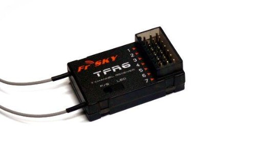 FrSky 2.4G 7Channels Receiver TFR6 Compatible with Futaba FASST System
