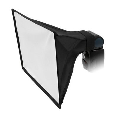 PBL Softbox 8in x12in Softbox for Nikon Flash, Canon Speedlight, for Nikon SB-600, SB-800, SB-900 Flash, Canon Speedlite 380EX, 430EX, 430EX II, 550EX, 580EX, 580EX II, Vivita Flash, Sunpack, Nissin,Sigma, Sony, Pentax, Olympus, Panasonica Lumix Flashes New Steve Kaeser Photographic Lighting from PBL