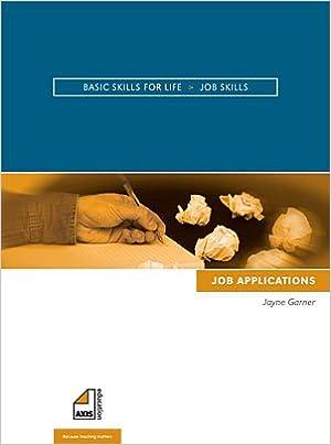 Job Skills Job Applications Basic Skills For Life Amazon Co Uk