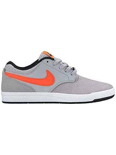 Nike Wolf Grey / Total Crimson-Black, Zapatillas de Deporte para Niños Gris (Wolf Grey / Total Crimson-Black)