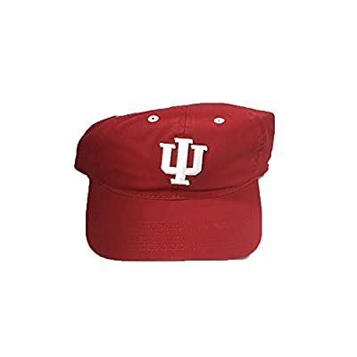 Indiana Hoosiers Adidas Team Prime Colors Adjustable Slouch Men's Hat