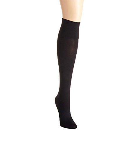 Below Knee Socks (HUE Simply Skinny Knee Socks Black 9-11)