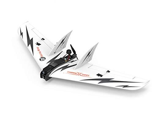 SonicModell CF Racing Wing FPV RC Airplane UAV Platform Wingspan 1030mm Carbon Fiber Fuselage EPO Airfoil (KIT Version)