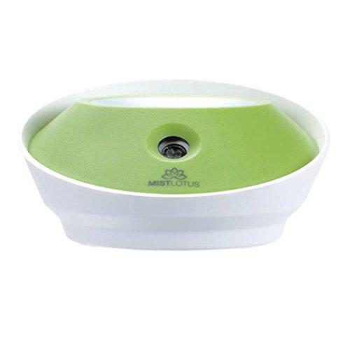 Allywit USB Mini Bottle Cap Humidifier Office Air Diffuser (Green)
