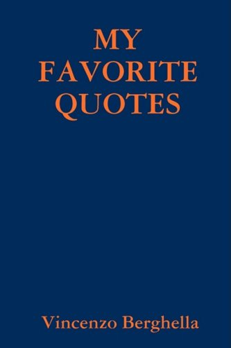 Read Online My favorite quotes ebook