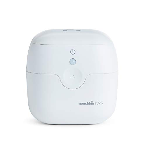 Munchkin Portable UV Sterilizer, Kills 99% of Germs, Viruses and Bacteria in 59 Seconds