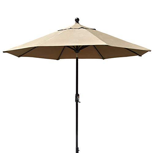 EliteShade 9Ft Market Umbrella Patio Outdoor Backyard Table Umbrella (Fabric Sunbrella Mesh)