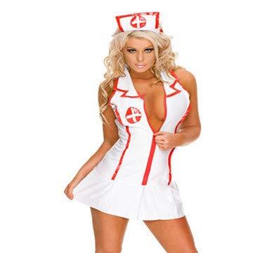 20df9bd45c29 ILYQQ Lencería Sexy Enfermera Uniforme tentación Cosplay Enfermera ...