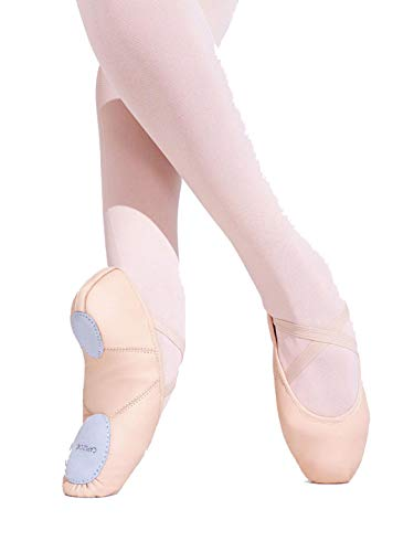 Capezio Women's Juliet Ballet Shoe,Black,6.5 W US by Capezio