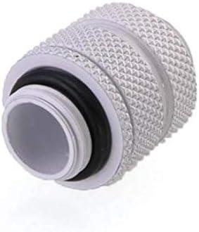 White 2 Pack Bykski G1//4 SLI//CF Expansion Joint 16mm-22mm