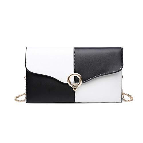 Mujer En Blanco Cuer Bags Negro Totalizador Hombro De Capacidad Audburn Casual Bolsos Gran Shoulder Y qn7PRwnfxt