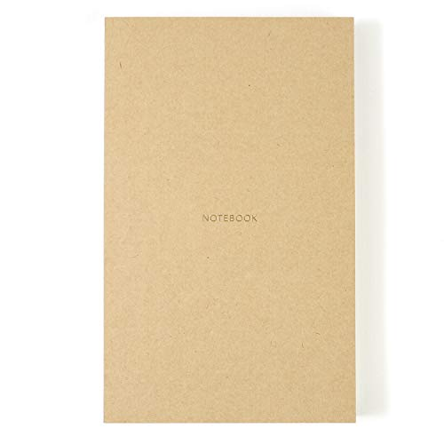 - Pinesman · Notebook Journal · Medium Size · Hard Cover · Naked Spine · 160 Pages · 210 x 130 mm · Brown · Dotted