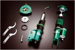 Tein Racing Super (Tein DSS12-81LS1 Super Racing Coil-Over Damper Kit for Subaru Impreza)