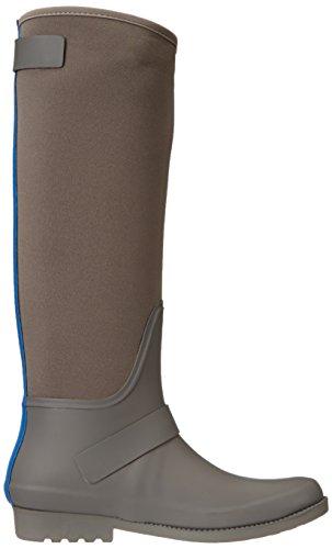 Connessione Francese Scarpe Da Pioggia Da Donna Cat In Alluminio / Celeste Blu