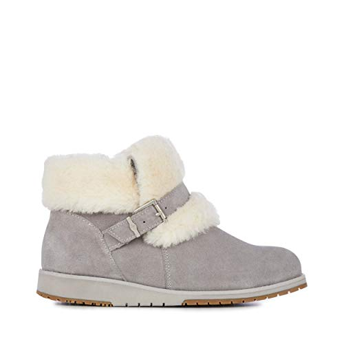 EMU Australia Womens Oxley Fur Cuff Deluxe Wool Boots Size 6