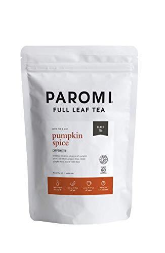 Paromi Tea Pumpkin Spice Black Tea Loose Leaf