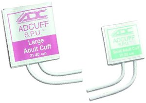 ADC SPU CUFF, 2 Tube, Scr. Con., Lrg. Adult, 10/pkg. 8400X1-10 by ADC