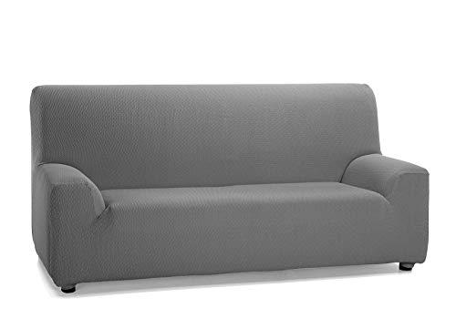 Martina Home Tunez Funda Elastica para Sofa, Tela, Gris, 3 Plazas (180-240 cm)