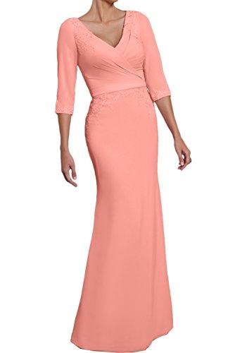 Topkleider - Vestido - para mujer Pfirsisch