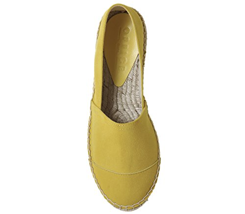 Suede Yellow Espadrilles Office Office Lucky Lucky gxq4Y1X