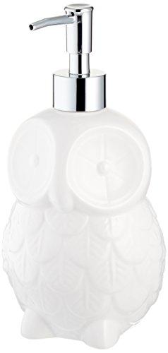 Abbott Collection White Owl Soap Pump