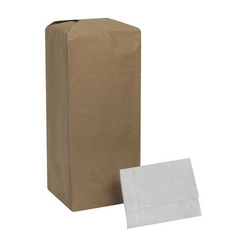 MorNap White Full Fold Dispenser Napkin -- 6000 per case.