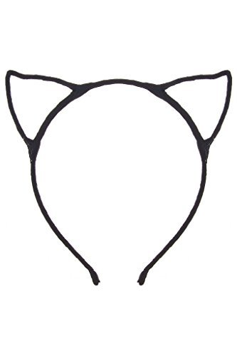 Dani's Choice Cat Ear Headband - Black]()