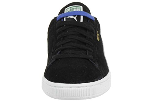 Puma Suede Classic RTB Leather Sneaker Men Trainers black 356850 09 black-blue-white-gold