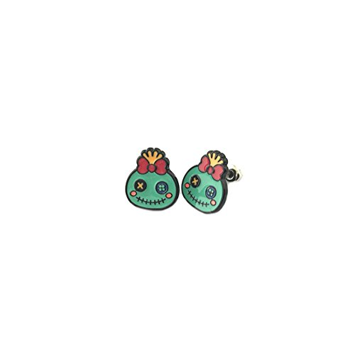 Scrump Doll Costume (Lilo & Stitch Scrump Doll Post Earrings w/Gift Box By Superheroes)