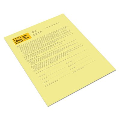 (Bold Digital Carbonless Paper, 8 1/2 x 11, Canary, 500 Sheets/RM, Sold as 2 Ream )