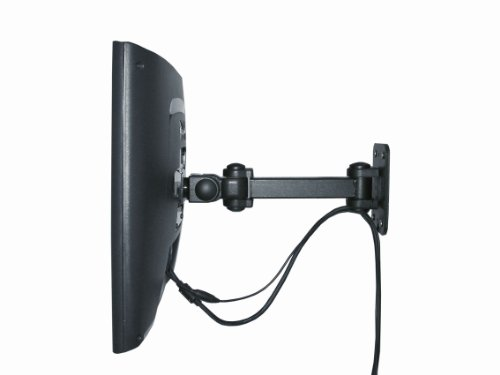 Exponent World Wall Mounted Monitor Arm - Black /stationary