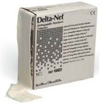 6863 Bandage Delta Net Stockinette Tubular Lf Ns Synth Reuse 3 X25yd Roll Part No  6863 By  Bsn Medical  Inc
