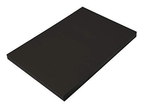 SunWorks Construction Paper, Black,  12
