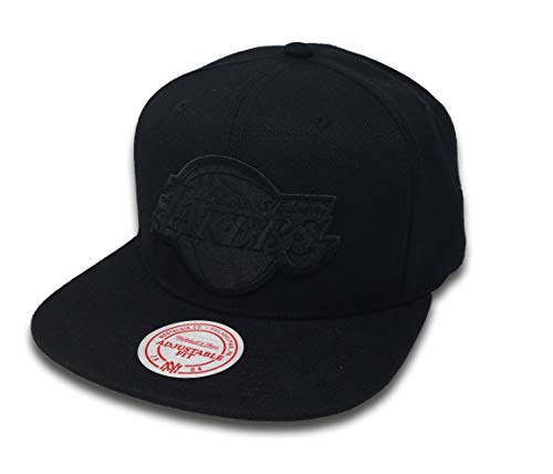 Mitchell & Ness Wool B/B Snapback LA Lakers MM18156 Black