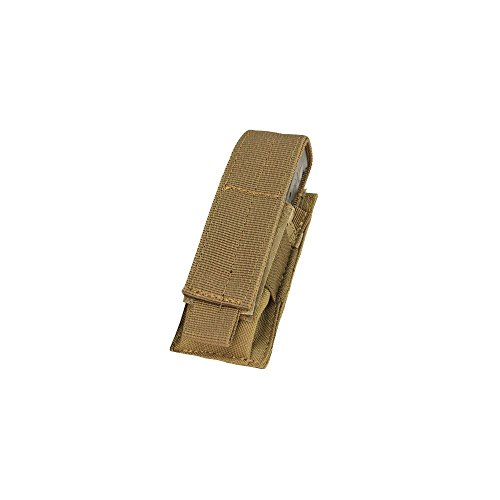 Condor Single Pistol Magazine Pouch Coyote Brown