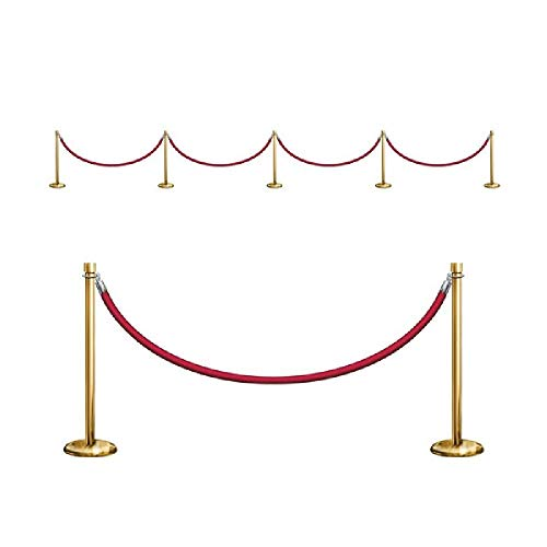 Bargain World Stanchion Party Props (9/pkg) (with Sticky -