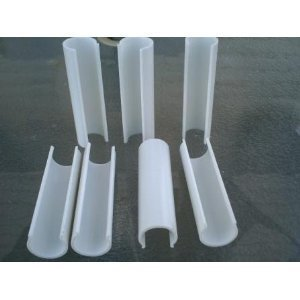 Snap Clamp 1/2 Inch X 4 Inches Wide For 1/2 PVC Pipe White 10 per ()