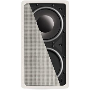 Definitive Technology in-Wall Sub Reference Speaker (Single, White)