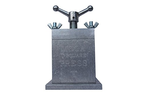 THE MEGA T SQUARE PRESS, The Best Manual Handle Acme Thread Press