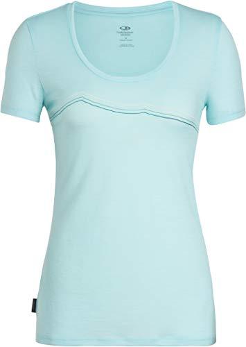 shirt Scoop Splash Ice Breaker Lite Aqua Triple Donna T Ss Tech Rangitoto wIxBqIH8U