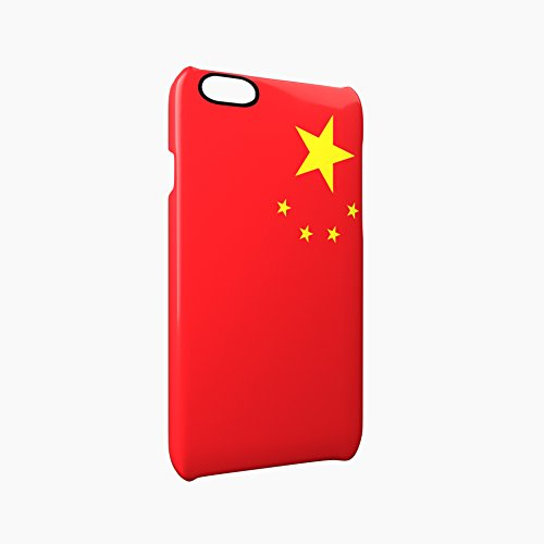 Flag of China Glossy Hard Snap-On Protective iPhone 6 Plus + / 6S Plus + Case Cover