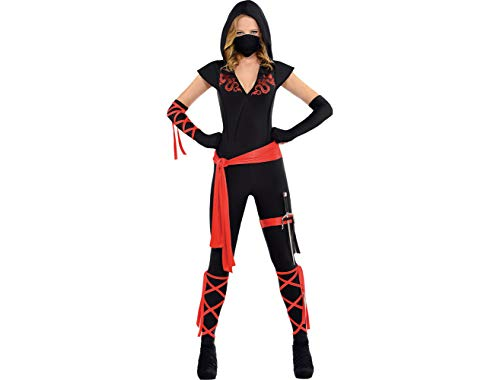 AMSCAN Dragon Fighter Ninja Halloween Costume for Women,